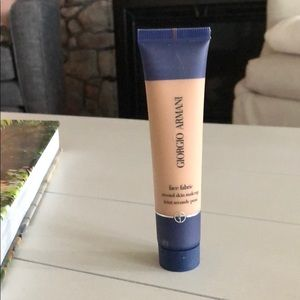 Giorgio Armani face fabric second skin make up